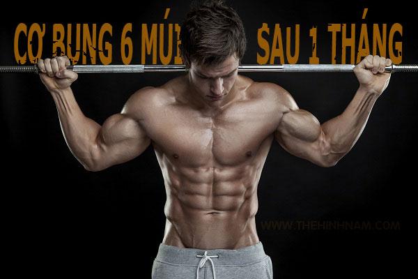 Hướng dẫn cách tập cơ bụng 6 múi nhanh nhất