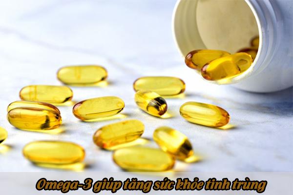 Omega-3 giúp tăng cường sức khỏe tinh trùng